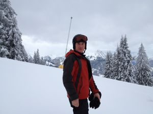 Scott Morrison in Gstaad